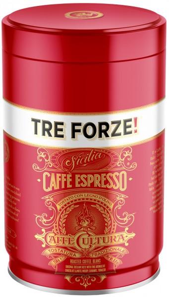 Tre Forze! Caffè, 250 g in der Dose
