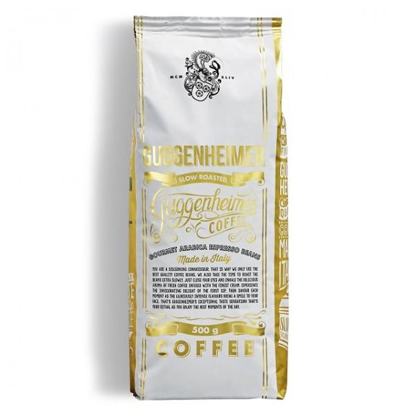 Guggenheimer Coffee 100% Gourmet Arabica Bohnen 500 g